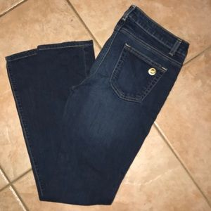 🆕🌹Michael Kors boot cut dark wash blue jeans